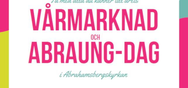 Vårmarknad och AbraUng-dag